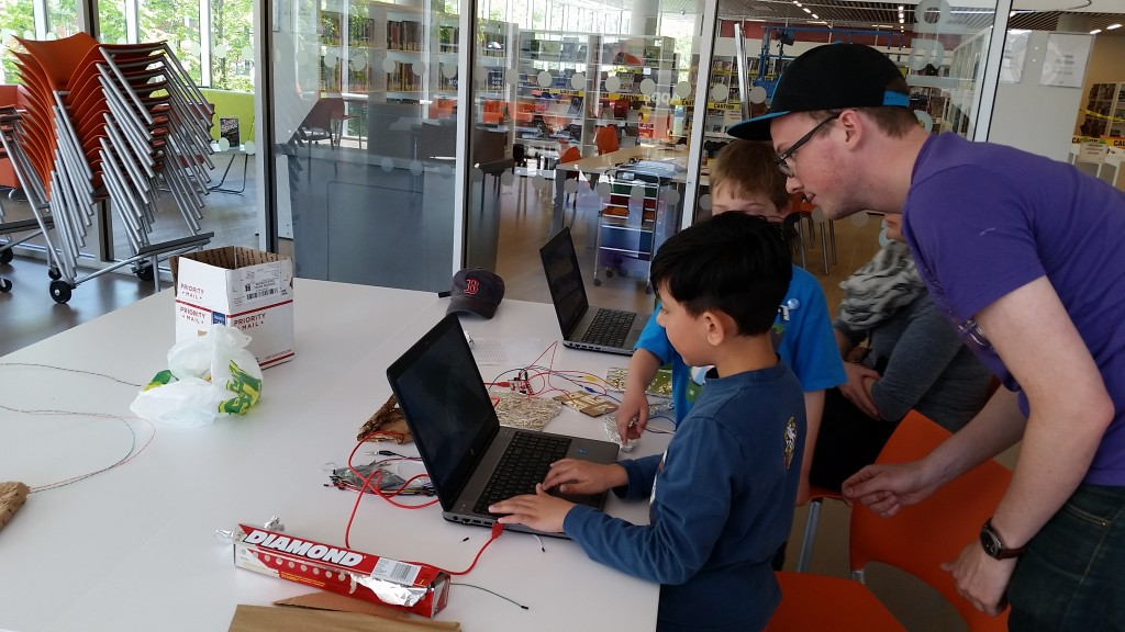 MakeyMakey workshop