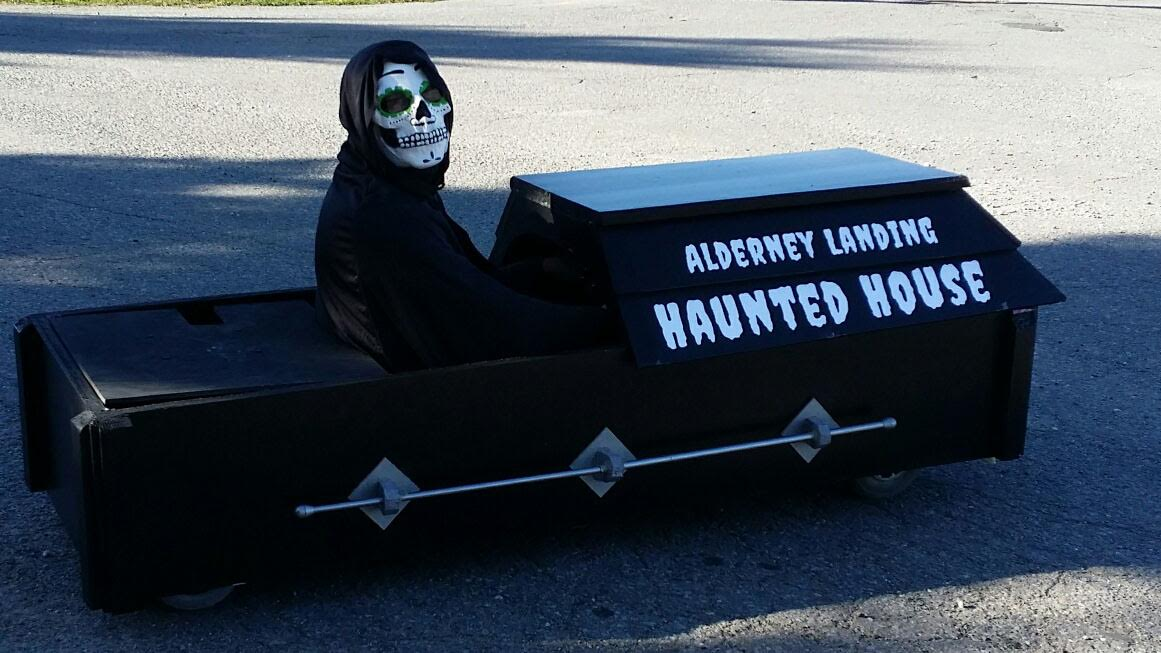 Casket Cart by Allan Carver